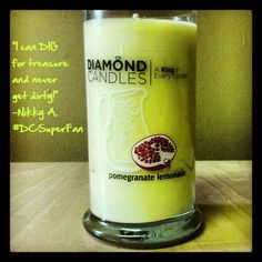 #DiamondCandles #candles #homedecor $24.95     Get your own at www.diamondcandles.com