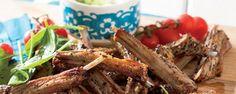 Lamb ribs with za'atar rub Braai Recipes, Barbecue Recipes, Meat Recipes, Lamb Ribs, Lamb Dishes, South African Recipes, Recipe Search, Food Hacks, Seafood