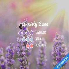 Anxiety Ease - Essential Oil Diffuser Blend #LavenderEssentialOil