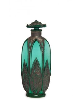 1920s Depinoix perfume bottle @ www.liveauctioneers.com
