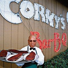 Corkys Ribs & BBQ, Memphis, TN | If you're making a pilgrimage here, you really need to decide only one thing: wet or dry? | SouthernLiving.com