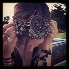 .. Kuchi headband jewellery ..