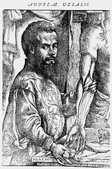 16th Century physician Andreas Vesalius.