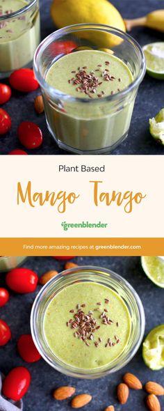 Mango Tango on Green Blender