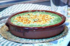 espinacas a la crema , recetas de verduras