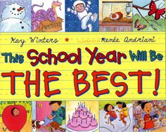 This book is hilarious and will help the students express their hopes for the year.