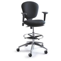 Safco Metro Adjustable Height Drafting Chair - SPC079