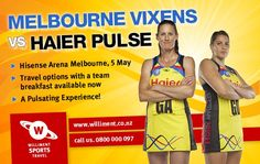 Williment Sports Travel and Haier Pulse A Team, Melbourne, Sports, Travel, Hs Sports, Viajes, Destinations, Traveling, Trips