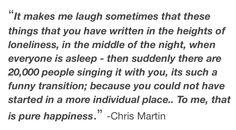 Chris Martin quotes >>>>>