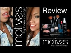 Motives Cosmetics by Loren Ridinger + Makeup Look Check it out ladies - Great review of several #Motives products.  Honesty!  Some she loves; some she doesn't.    www.ladieslovemotives