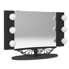Vanity girl Hollywood mirror.