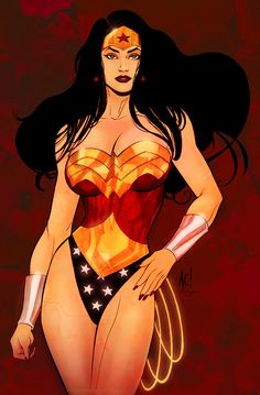 See more Wonder Woman art @ comicsdetectives.com