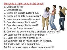 Expression oral en français