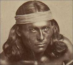 Nantaje or Nantahe.   Rising up to tell his story with is eyes.