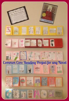 4th Grade Common Core Reading Project for any Novel!