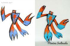Menina Inclinada makes custom toys from children's drawings