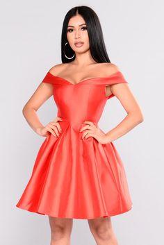 Wonderful Life Dress - Red