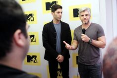 Max Joseph Photos - Executive Producer/host Nev Schulman (L) and Catfish host Max Joseph attend the MTV Press Junket & Cocktail Party at The London West Hollywood on February 18, 2016 in West Hollywood, California. - MTV Press Junket & Cocktail Party