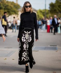 #oliviapalermo #dress #skirt #boots #heels #fashionweek #fashion #style #celebrity #ootd #fashionista #black #streetstyle #stylish #model #supermodel ... - OLIVIA PALERMO LOOKBOOK (@olivia.palermo)