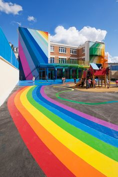 Rainbow pre-school in Paris