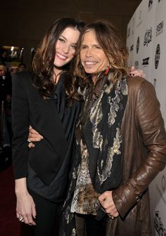 Pin for Later: 50+ Stars With Their Dear Old Dads Liv Tyler Liv hung out with her dad, Aerosmith lead singer Steven Tyler, at the LA premiere of Super in March 2011.