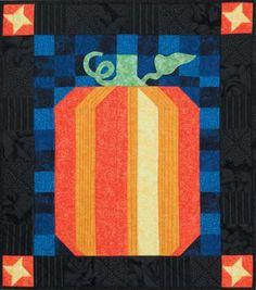 "Day Road Pumpkin, 24 x 27"", pattern at Beach Garden Quilts"