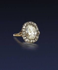 Rosecut diamond ring c.1920