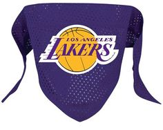 Los Angeles Lakers NBA Licensed Dog Bandana