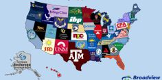 This Map Shows The Largest Employer In Every State [UPDATED]