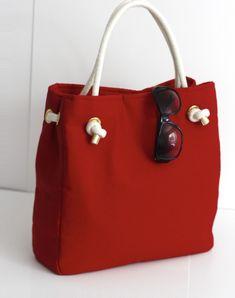Burlap Bags, Jute Bags, Fashion Handbags, Fashion Bags, Diy Handbag, Bag Patterns To Sew, Fabric Bags, Womens Purses, Handmade Bags