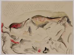 Rilke sportretowany przez Baladynę Klossowską, 1922