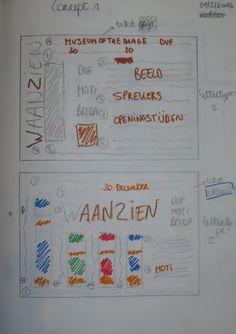 Concept 1: Schetsen