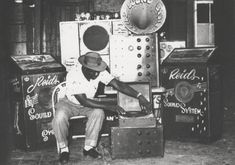 Legendary Jamaican producer and sound-system owner DUKE REID in the early 1960s.