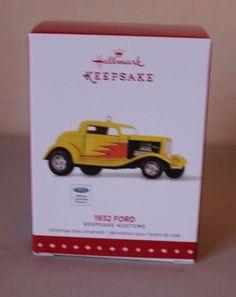 Hallmark Keepsake 2015 1932 Ford Car Keepsake Kustoms - Brand NEW