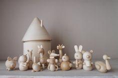 Montessori baby toys  Animals