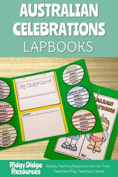 Australian Celebrations Lapbook Templates and Fact Sheets - Ridgy Didge Resources Black History Month Facts, Black History Month Activities, History For Kids, Primary Teaching, Teaching Resources, Naidoc Week Activities, National Sorry Day, Lap Book Templates, Celebration Around The World