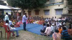 Gram Sansad Sabha in progress at Hili, Dakshin Dinajpur