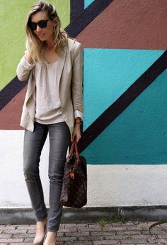Formal Beige  , Zara in Jeans, Zara in Blazers