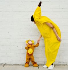 Be the banana to your baby's monkey costume, and the two of you will almost look good enough to eat!