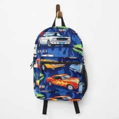 Muscle Cars, Clutches, Traveling By Yourself, Backpacks, Printed, Awesome, Sports, Pattern, Bags
