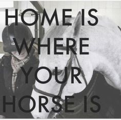 Home is where your horse is