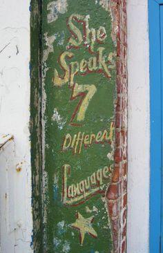 Seven Languages! Coney Island Brooklyn