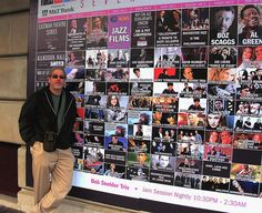 Eastman Theater--- jazz festival poster and Wayne Stratz