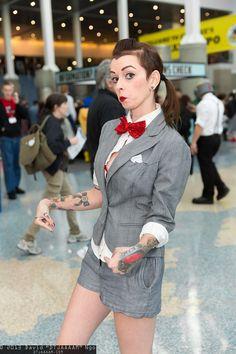 Pee-wee Herman #cosplay | Comikaze Expo 2013, taken by DTJaaaaM.com