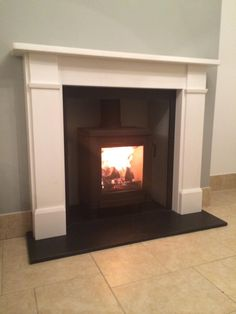 Contura in a Classic Victorian Surround installed last week in Cardiff Classic Home Decor, Classic House, Wood Burner Fireplace, Front Room Design, Open Plan Kitchen Living Room, Victorian Fireplace, Distressed Furniture, Fireplace Surrounds, Home Interior Design