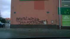 Śmierć kibica - graffiti Jelcz-Laskowice #kibice #graffiti #JelczLaskowice