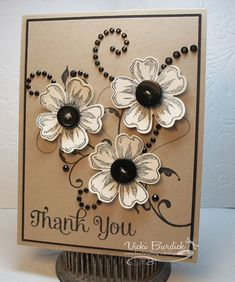 Dynamic Duos.....Thank You by justcrazy - Cards and Paper Crafts at Splitcoaststampers