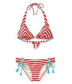 5e67b7f7a7 Americana bathing suit from Aeropostale Summer Stripes
