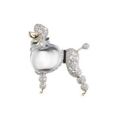 Jelly Belly Poodle Pin