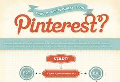 To pin or not to pin – Flussdiagramm: Sollten Unternehmen auf Pinterest sein?  Sehr lesenswerter Beitrag dazu von von Karrierebibel : http://karrierebibel.de/to-pin-or-not-to-pin-flussdiagramm-sollten-unternehmen-auf-pinterest-sein/